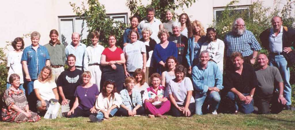 The first academic class in 2000