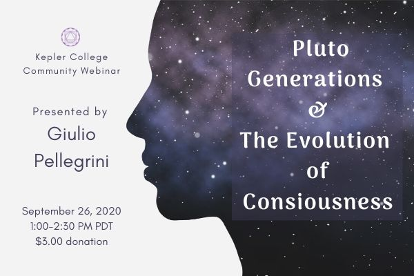 Sept 26: Pluto Generations and the Evolution of Collective Consciousness