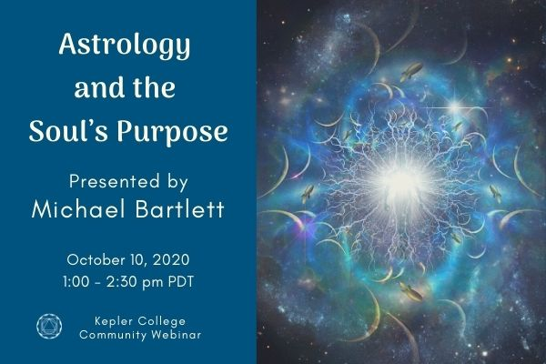 October 10: Astrology and the Soul's Purpose with Michael Barlett