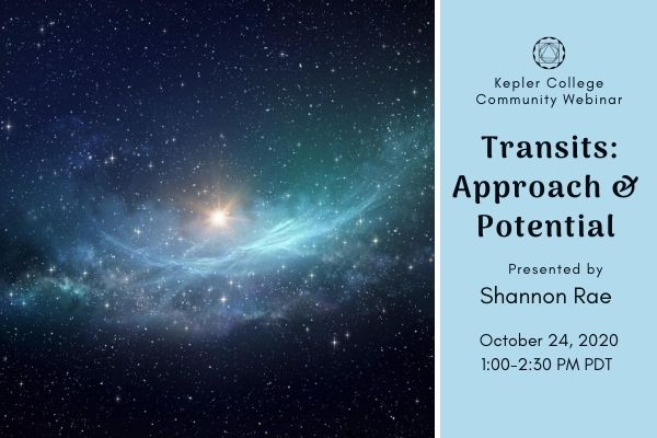 Oct 24: Transits: Approach & Potential with Shannon Rae