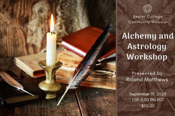 Sept. 19 Alchemy and Astrology Workshop