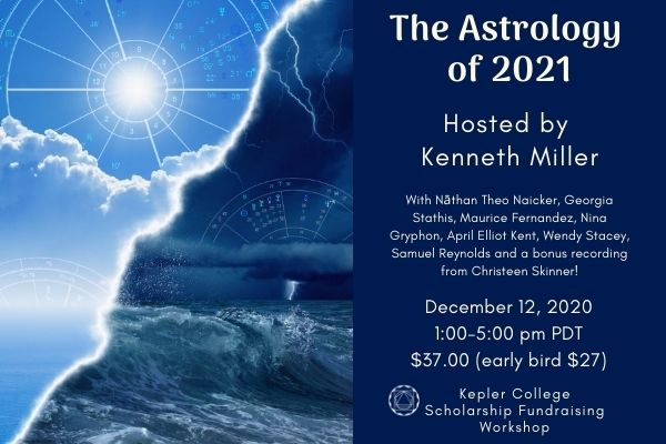 Dec 12. The Astrology of 2021 (early bird price $27)